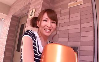 Hottest Japanese girl Miku Ohashi in Best college, massage JAV pinch