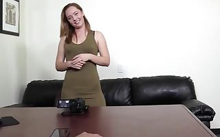 Arianna did analcreampie for casting vid?