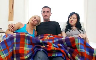 Aria Alexander & Keiran Lee in Sister in Law Sleepover - DigitalPlayground