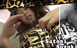 Exotic Japanese whore Satomi Suzuki in Nasty JAV uncensored Teen clip
